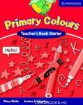 Primary Colours Starter Teacher's Book (ISBN: 9780521667272)