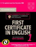 Cambridge First Certificate in English 1 for Updated Exam Se (ISBN: 9780521714518)