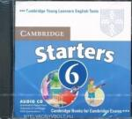 Cambridge Young Learners English Tests 6 Starters Audio CD: Examination Papers from University of Cambridge ESOL Examinations (ISBN: 9780521739351)