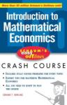 Schaum's Easy Outline of Introduction to Mathematical Economics (2001)