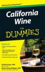 California Wine For Dummies (ISBN: 9780470376072)