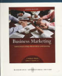 Business Marketing: Connecting Strategy, Relationships, and Learning (2007)