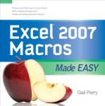 Perry, G: Excel 2007 Macros Made Easy (2012)