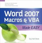 Word 2007 Macros and VBA Made Easy (2003)