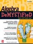 Algebra DeMYSTiFieD, Second Edition (2011)