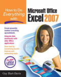 How to Do Everything with Microsoft Office Excel 2007 (2001)