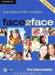 face2face Second edition Pre-intermediate Class Audio CDs (2012)