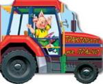 Тракторите на Прасчо - книжка с колела (ISBN: 9789544312527)