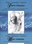 Три сонати (ISBN: 9790707680117)