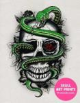 Skull Art Prints: 20 Removable Posters (2014)