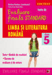Teste de evaluare finala standard. Limba si literatura romana. Clasa a V-a, Editia a II-a (ISBN: 9789734718627)