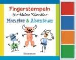 Fingerstempeln für kleine Künstler-Set - Monster und Abenteuer (2014)