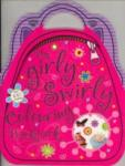 My Girly Swirly Colouring Backpack Over 100 Stickers (0000)