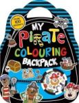 My Pirate Colouring Backpack Over 100 Stickers (0000)