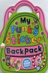 My Funky Sticker Backpack Over 1000 Stickers (0000)