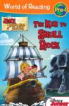World of Reading: Jake and the Never Land Pirates The Key to Skull Rock Level 1 (0000)