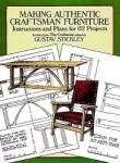 Making Authentic Craftsman Furniture (ISBN: 9780486250007)