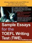 Sample Essays for the TOEFL Writing Test (ISBN: 9781411607743)