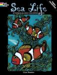 Sea Life Stained Glass Coloring Book (ISBN: 9780486264929)