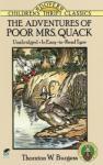 Adventures of Poor Mrs. Quack (ISBN: 9780486278186)