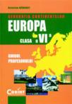 GEOGRAFIA CONTINENTELOR-EUROPA. Manual cls. a VI-a (1998)