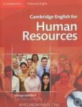 Cambridge English for Human Resources Student's Book with Audio CDs (ISBN: 9780521184694)
