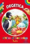 Citim si coloram - Degetica (ISBN: 9786065710696)