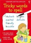 Tricky words to spell 50 wipe-clean cards and pen (ISBN: 9781409507482)