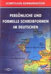 Personliche und formelle schreibformen im Deutschen (2003)