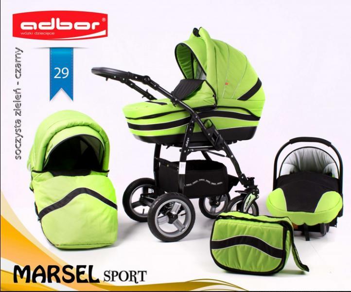Vásárlás  Adbor Marsel Sport 3 in 1 Babakocsi árak összehasonlítása ... 5628f46618