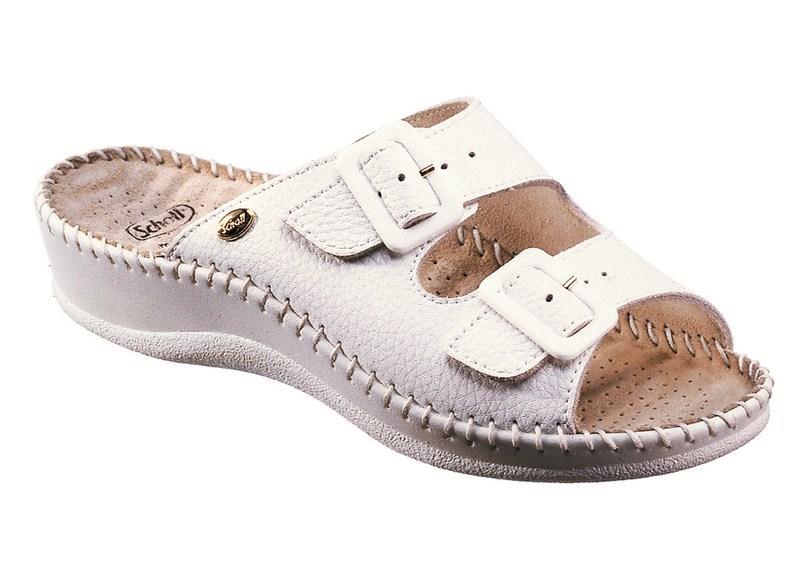 cc525c7b2c Vásárlás: Scholl Weekend papucs fehér Női papucs árak ...