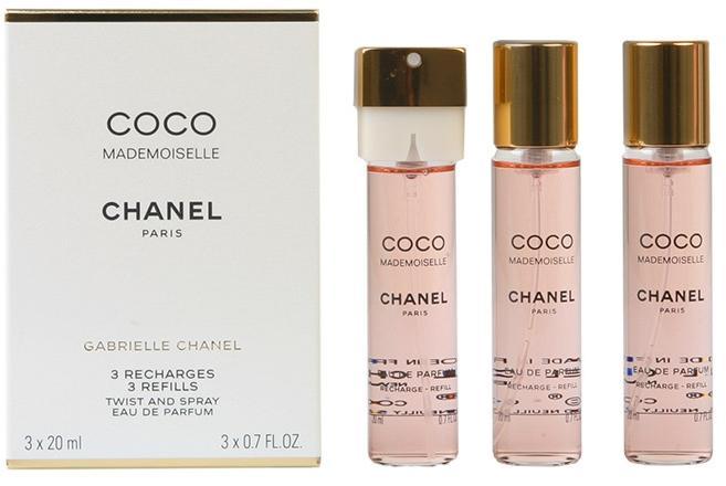 Chanel Coco Mademoiselle Refills Edp 3x20ml Preturi Chanel Coco