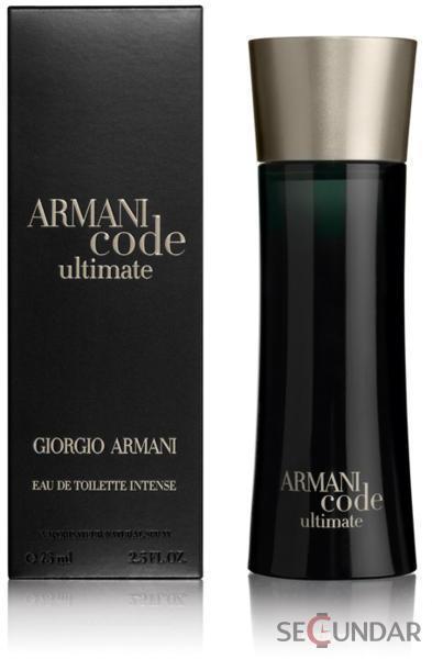 Giorgio Armani Armani Code Ultimate for Men EDT 75ml parfüm vásárlás ... 58857bad4e