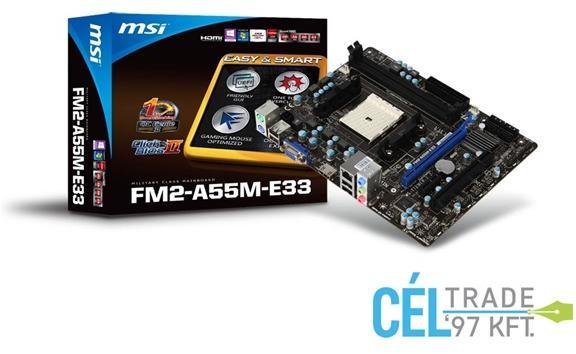 MSI FM2-A55M-E33