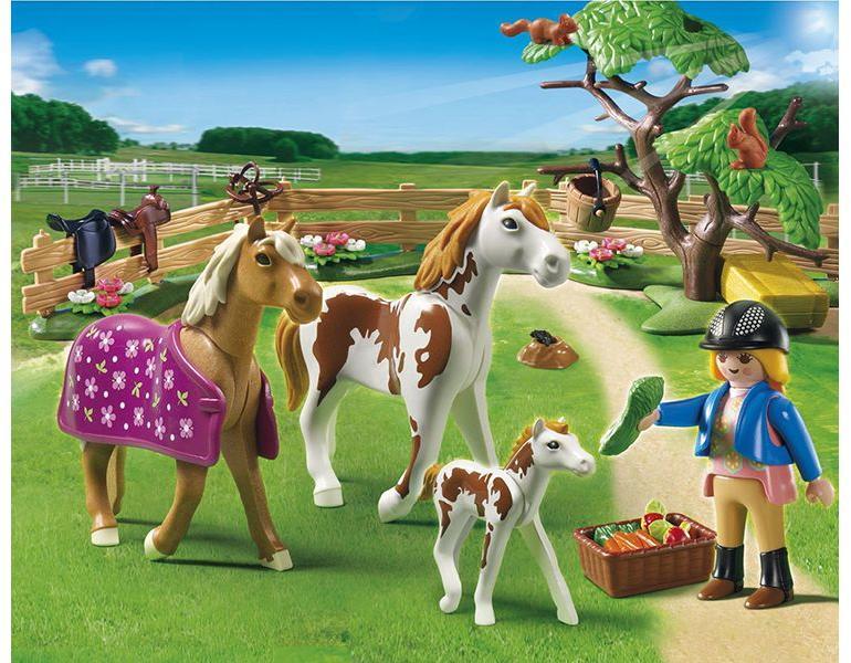 playmobil adventi naptár lovacskák Vásárlás: Playmobil Lócsalád (5227) Playmobil árak  playmobil adventi naptár lovacskák
