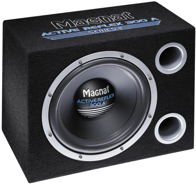 magnat active reflex 300 a series ii subwoofer auto. Black Bedroom Furniture Sets. Home Design Ideas