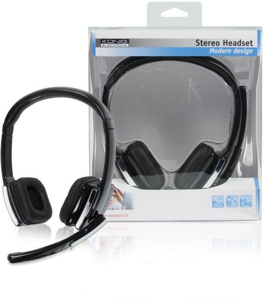 Vásárlás  König CMP-HEADSET150 Mikrofonos fejhallgató árak ... 2022246c43