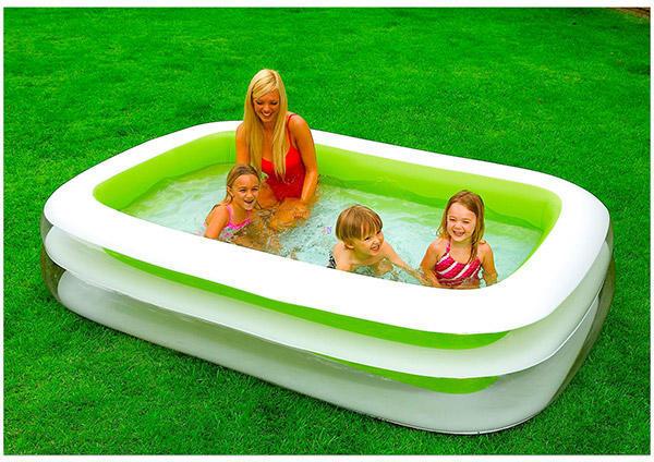 Vásárlás  Intex Family felfújható családi medence 262x175x56cm ... b8ca334024