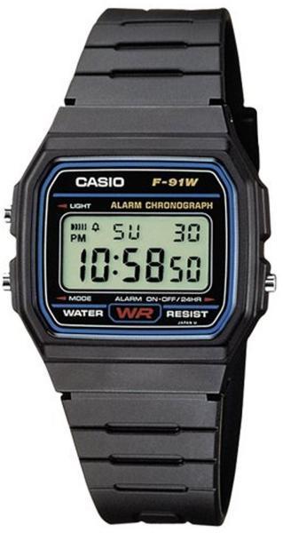 Vásárlás  Casio F-91W óra árak 1296bbef15