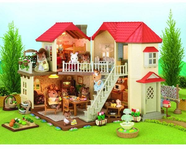1c8b023bd0c3 Vásárlás: Sylvanian Families Ház világítással Sylvanian Families ...