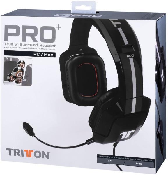 Vásárlás  Tritton PRO+ 5.1 Mikrofonos fejhallgató árak ... 9e9be0b6fa