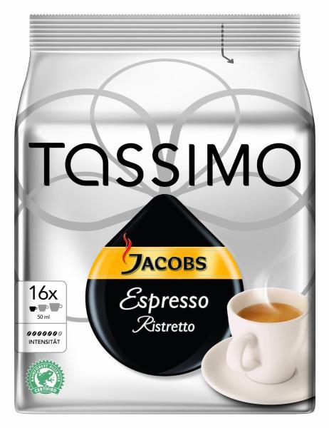 TASSIMO Jacobs Espresso Ristretto KapszulaShop