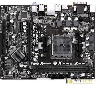 ASRock FM2A75M-HD+ XFast LAN XP