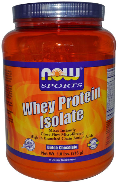 1d4ae4fe014 NOW Sports Whey Protein Isolate - 816g, справочник с цени от фитнес ...