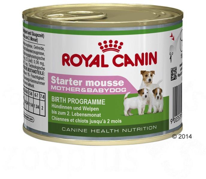 Royal Canin Starter Mousse Mother Amp Babydog 24x195g Hrana