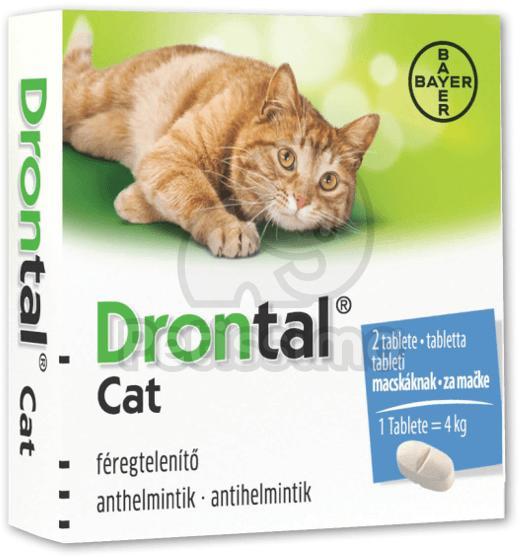 Cestal Cat féreghajtó tabletta macskáknak 8 db