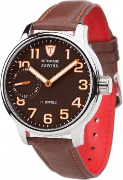 Vásárlás  Detomaso Savona Leather DT1028 óra árak 080afe8187