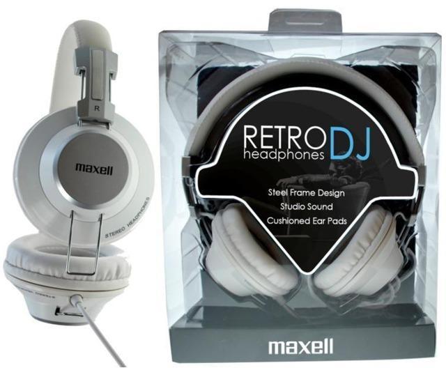 Vásárlás  Maxell Retro Dj2 Mikrofonos fejhallgató árak ... 98a3183544