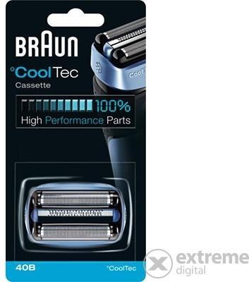 Vásárlás  Braun Cooltec Cassette 40B Borotva körkés 93e7fd29c0