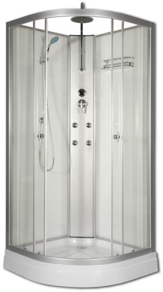 Vásárlás: Sanimix Lora 90x90x210 cm zuhanytálcával íves (22.181 ...